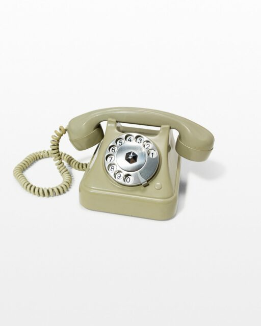 Front view of Pea Rotary Phone