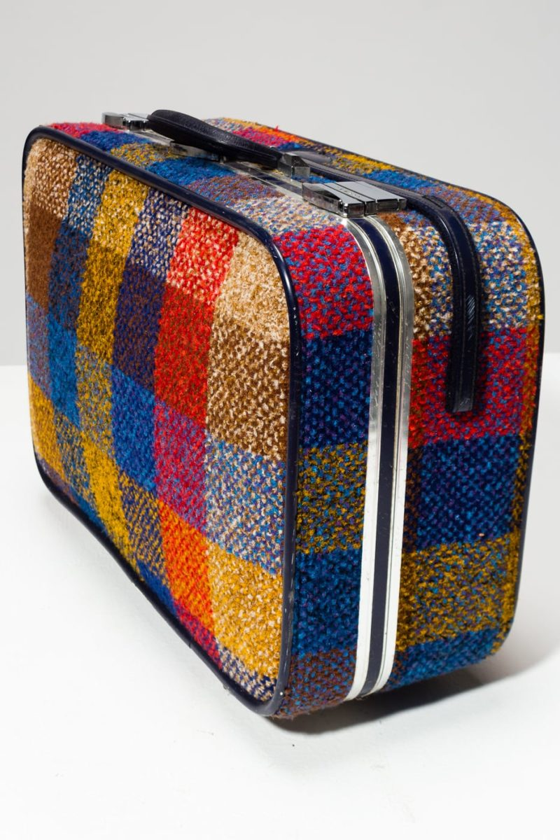 Alternate view 2 of McGrath Multicolor Plaid Suitcase