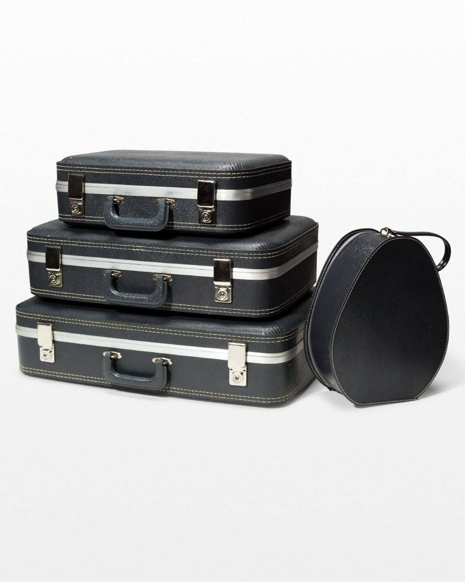 Front view of Chester Luggage Set