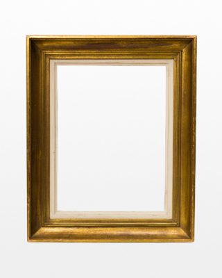 "Front view of Cheri 17.5"" x 21.5"" Gold Frame"