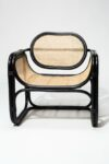 Alternate view thumbnail 2 of Haskel Rattan Lounge Chair