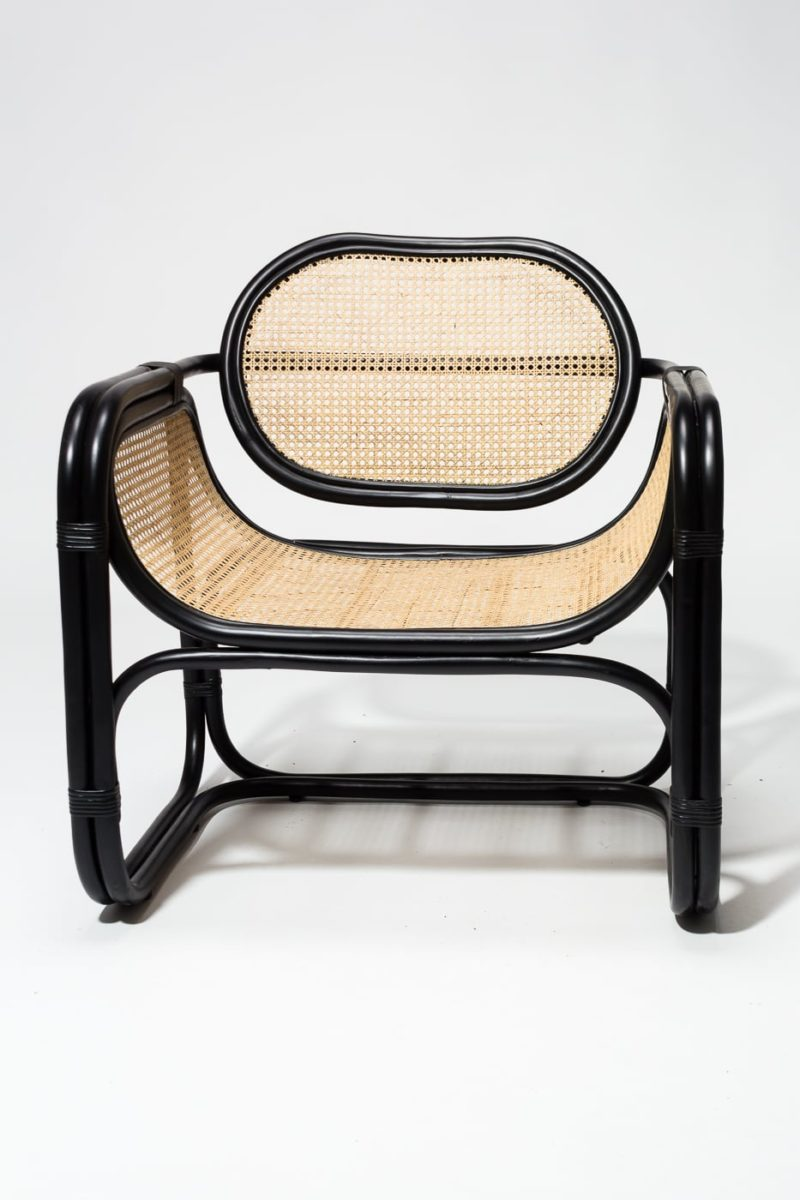 Alternate view 2 of Haskel Rattan Lounge Chair