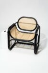 Alternate view thumbnail 3 of Haskel Rattan Lounge Chair