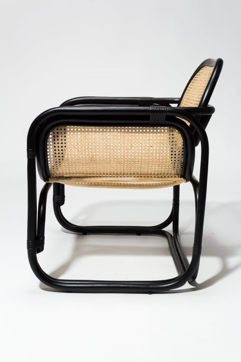 Alternate view 4 of Haskel Rattan Lounge Chair