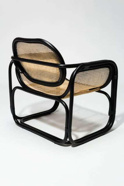 Alternate view 5 of Haskel Rattan Lounge Chair