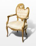 Front view thumbnail of Cleo Ornate Side Chair