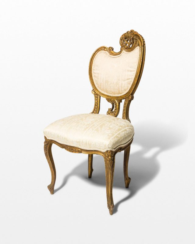Front view of Taylor Ornate Side Chair