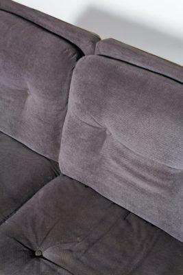 Alternate view 2 of Borman Velvet and Chrome Sofa