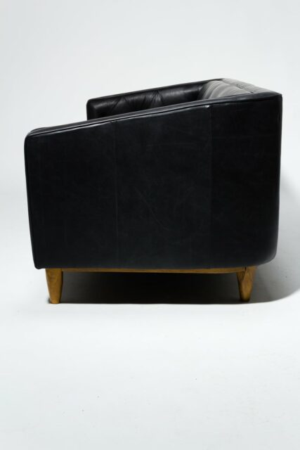 Alternate view 2 of Brixton Tufted Black Club Sofa