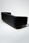 Alternate view thumbnail 3 of Brixton Tufted Black Club Sofa