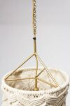 Alternate view thumbnail 3 of Effie Macrame Bead Chandelier