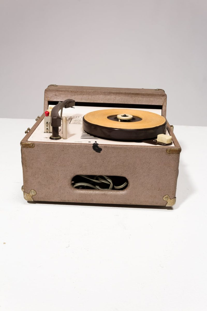 Alternate view 2 of Frederick Vintage Portable Record Player