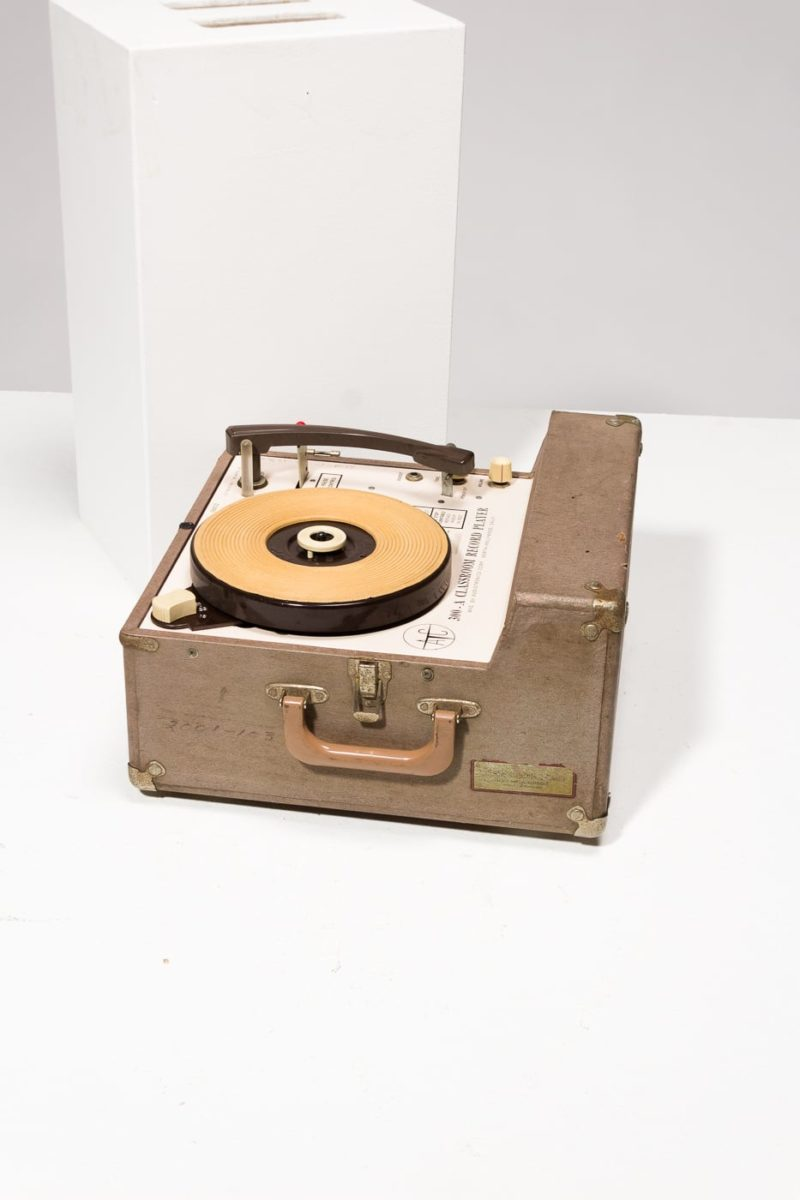 Alternate view 1 of Frederick Vintage Portable Record Player