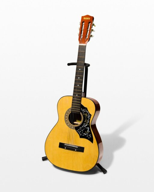 Front view of Anthony Acoustic Guitar