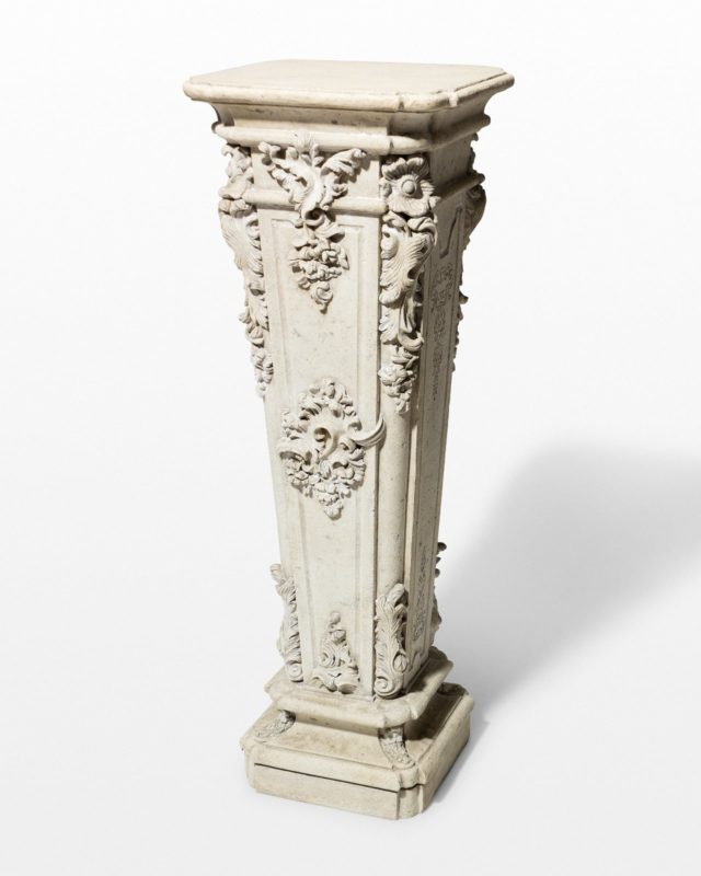 Front view of Artemis Pedestal