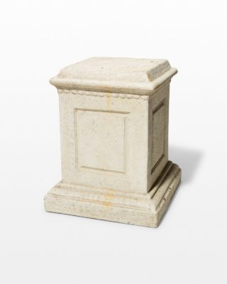 Front view of Claude Low Pedestal