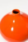 Alternate view thumbnail 1 of Idris Orange Vase