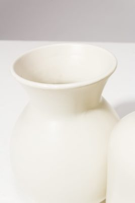 Alternate view 1 of Press Cream Ceramic Vase Trio