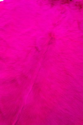 Alternate view 1 of Mia Pink Fur Hide