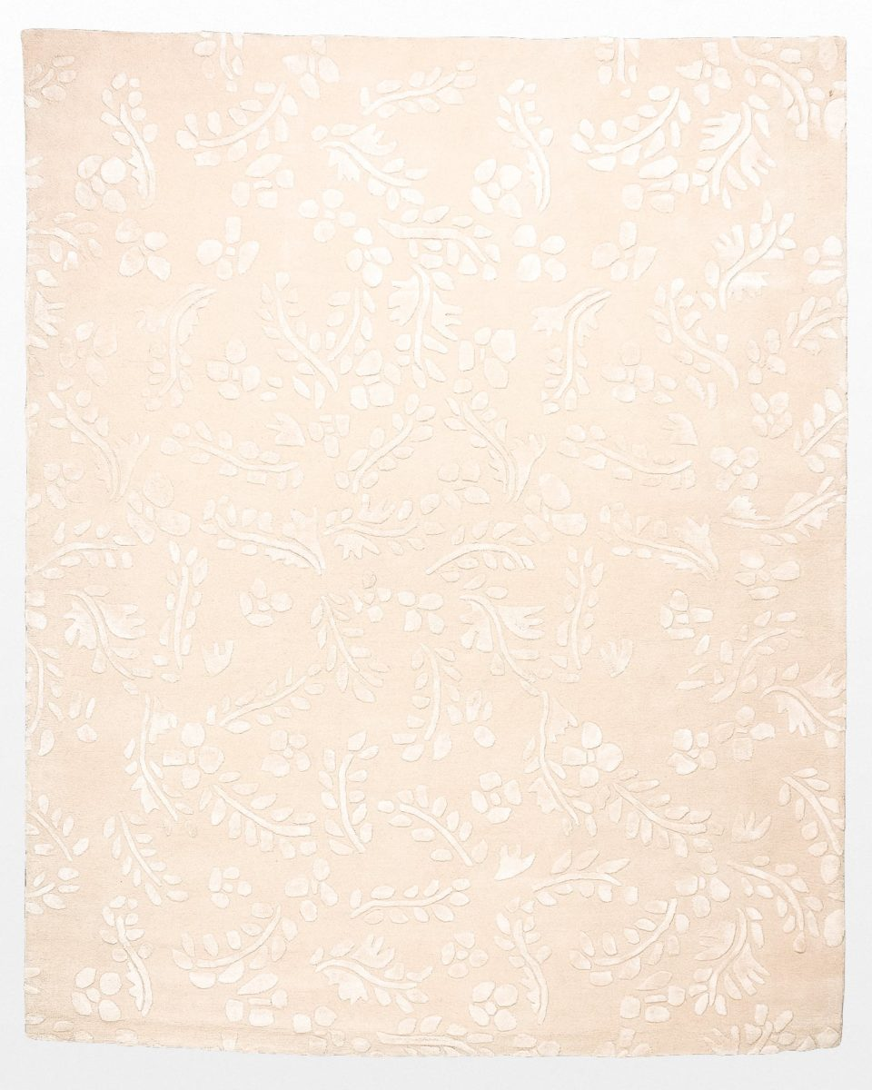 Front view of Leigh Peony Blush 8' x 10' Rug