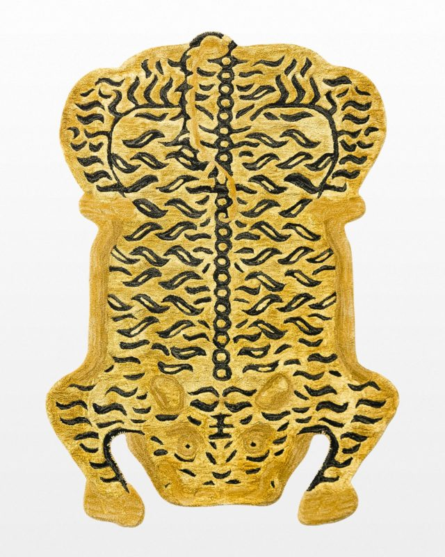 Front view of Naima Tiger Rug