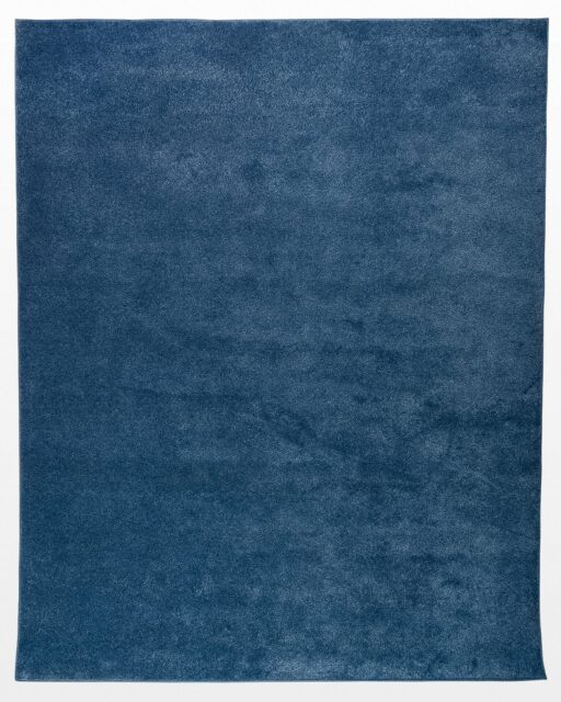 Front view of Amir Blue 8' x 10' Area Rug