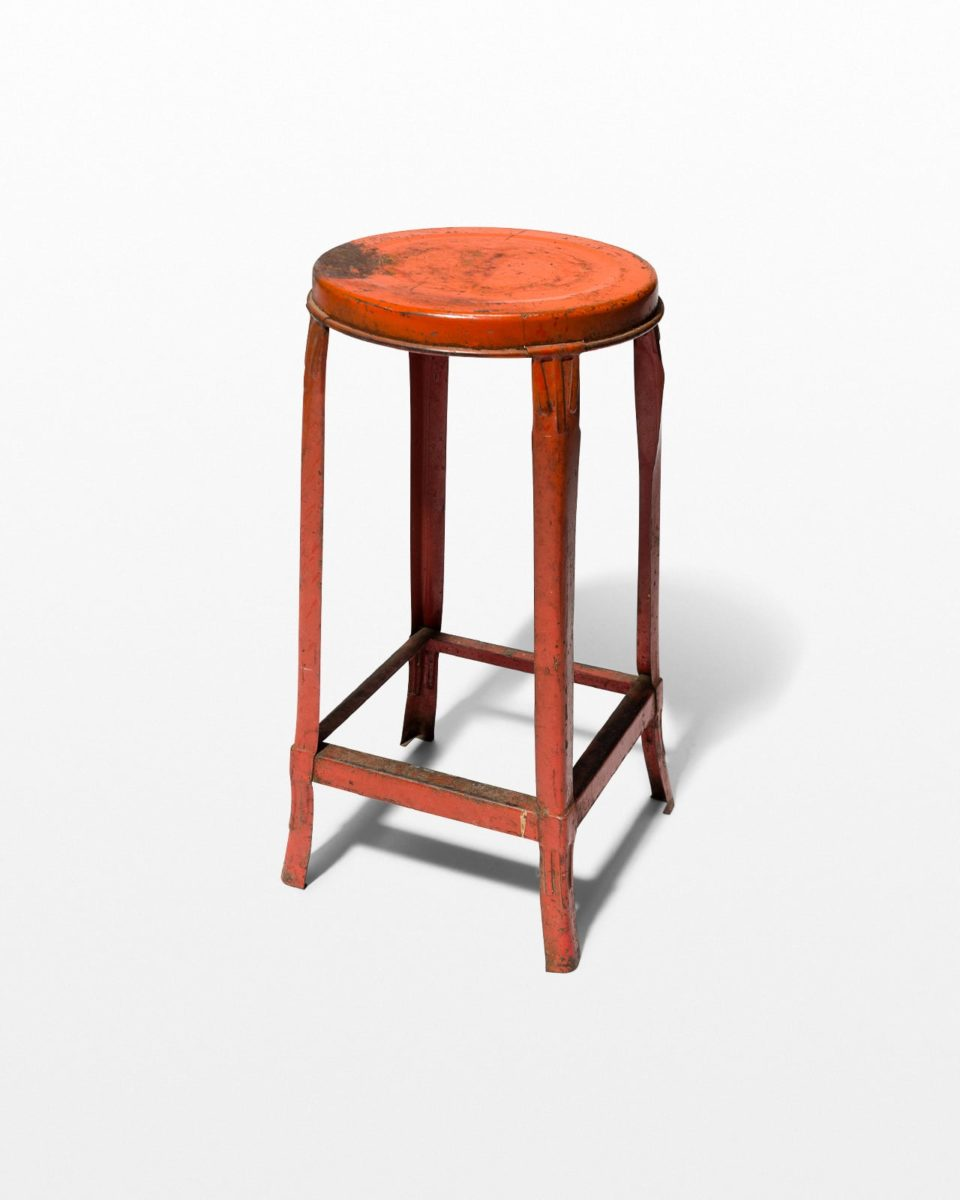Front view of Cadium Metal Stool