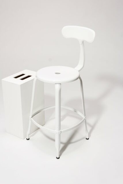 Alternate view 4 of Pose White Counter Stool