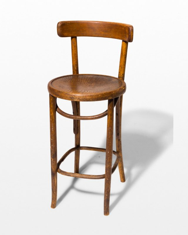 Front view of Alexandria Stool