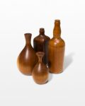 Front view thumbnail of Craft Wooden Vase Set
