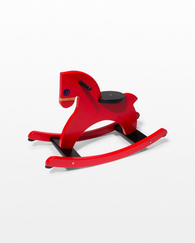 Front view of Murphy Modern Kids Rocking Horse