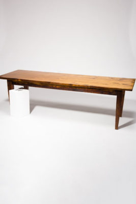 Alternate view 2 of Haverhill 8' Long Wooden Farm Table