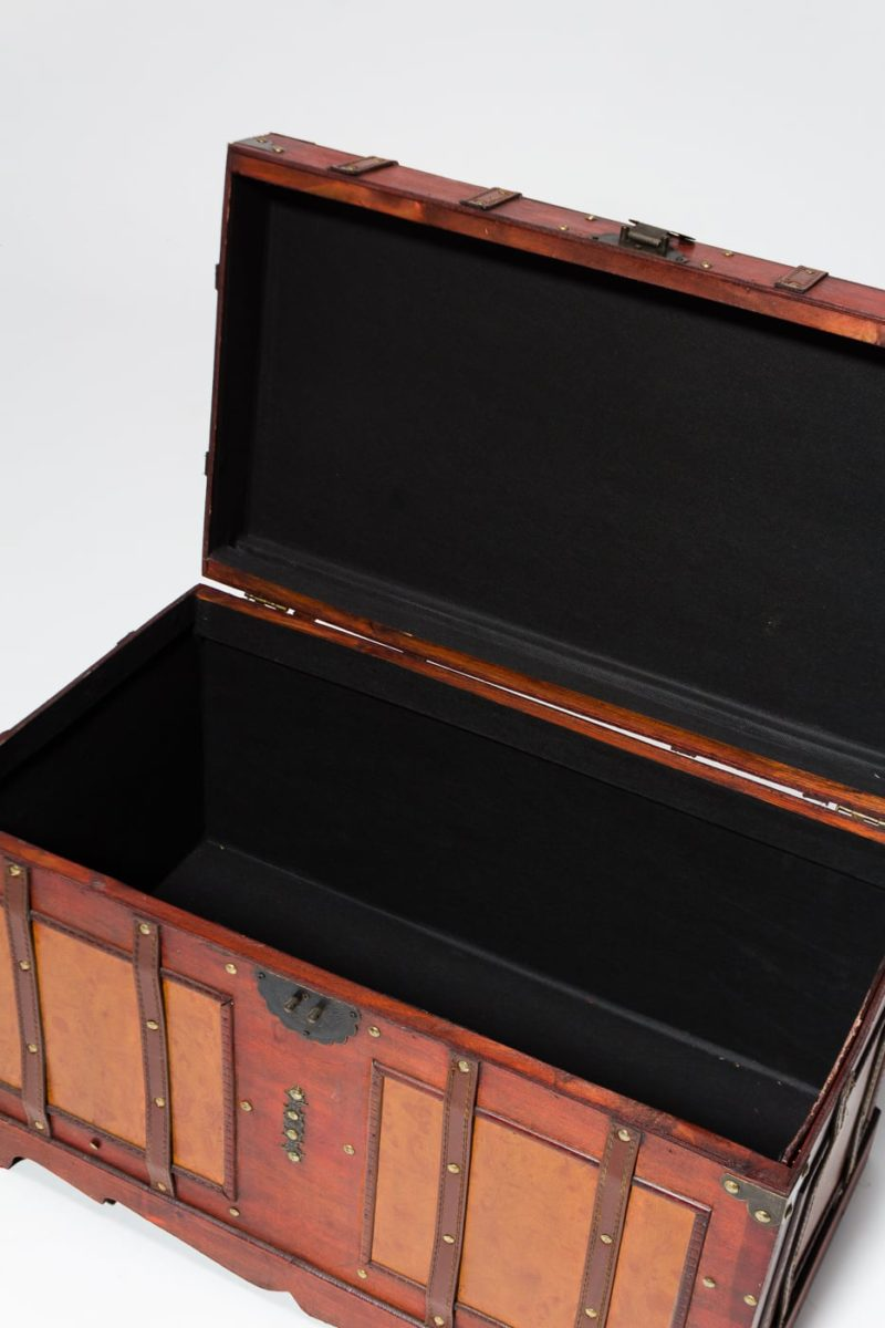 Alternate view 3 of Lenor Wooden Trunk