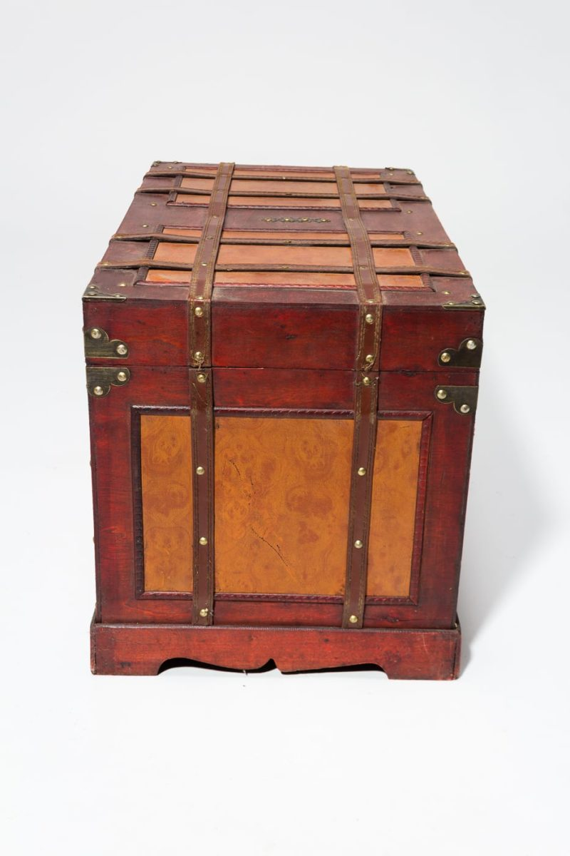 Alternate view 4 of Lenor Wooden Trunk