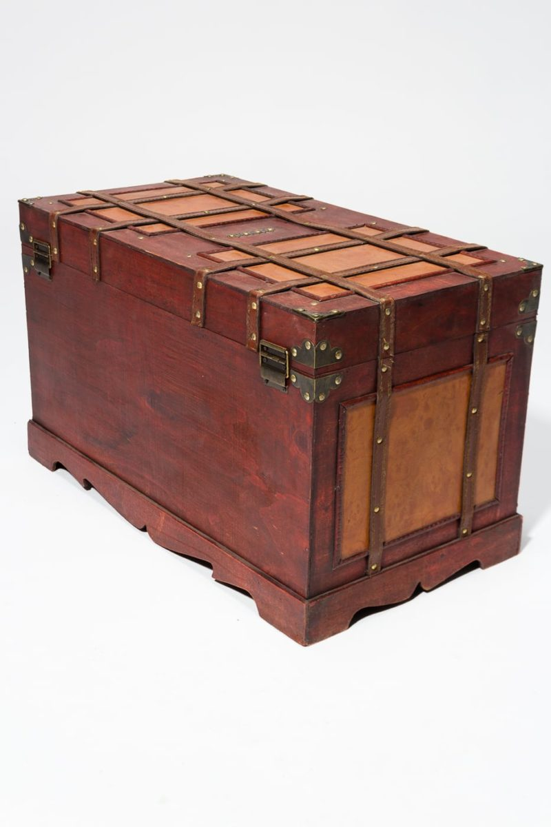 Alternate view 5 of Lenor Wooden Trunk