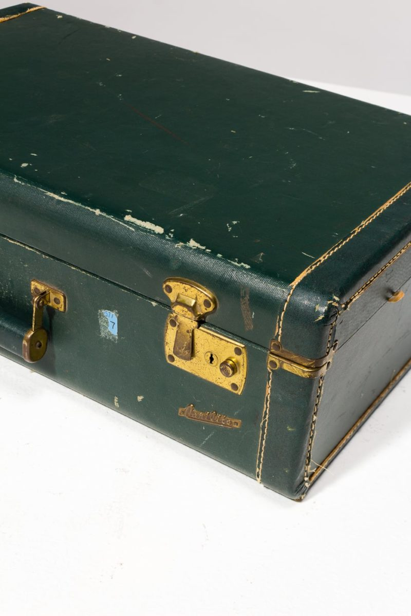 Alternate view 2 of Pelham Distressed Vintage Suitcase
