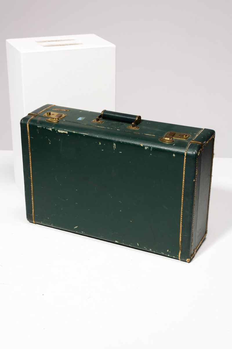 Alternate view 1 of Pelham Distressed Vintage Suitcase