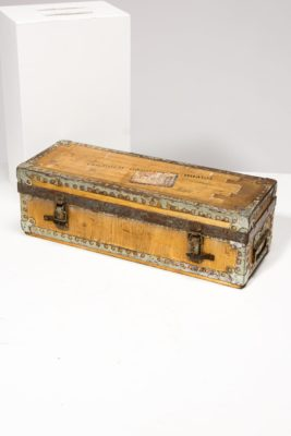 Alternate view 4 of Jacques Distressed Luggage Case