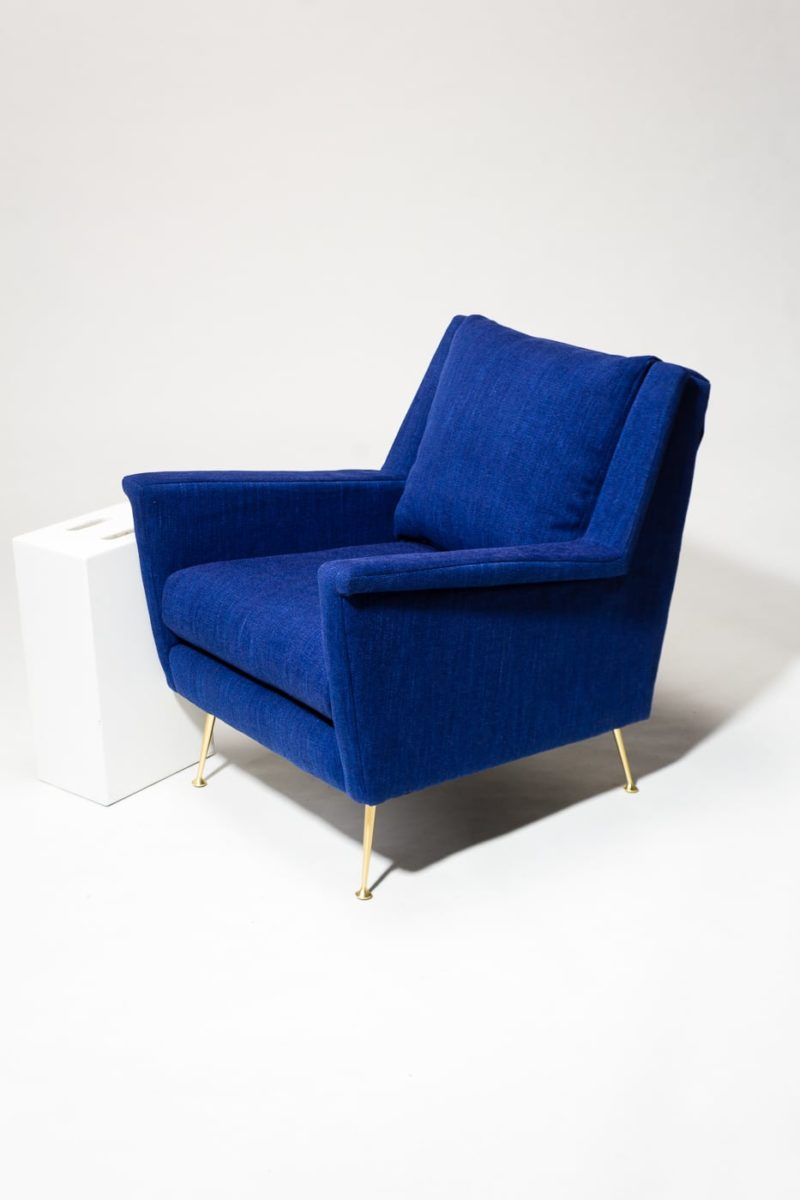 Alternate view 2 of Masika Blue Armchair