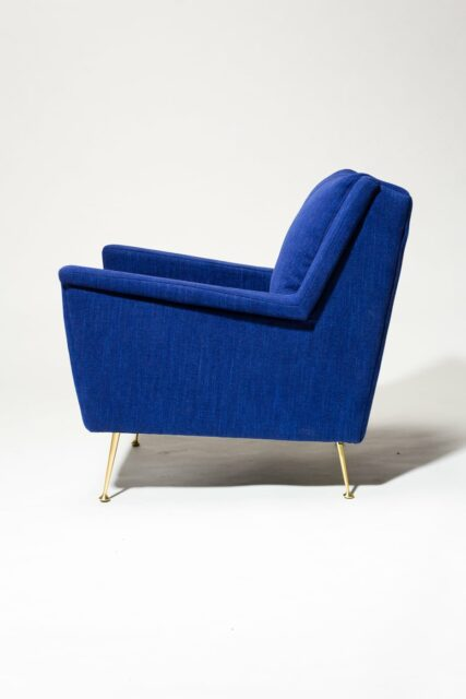 Alternate view 3 of Masika Blue Armchair