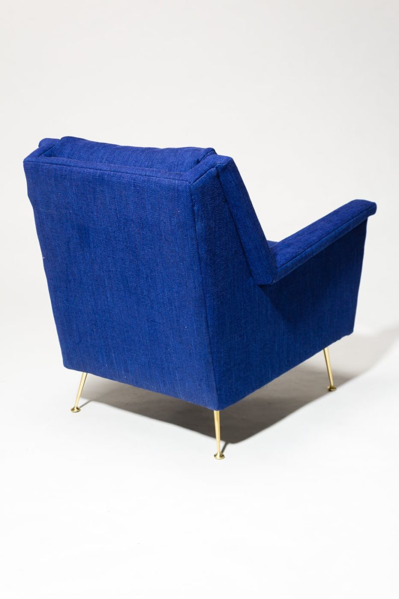 Alternate view 4 of Masika Blue Armchair