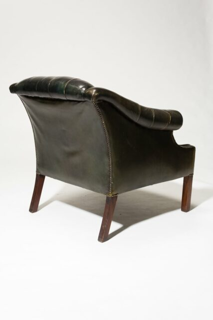 Alternate view 4 of Bergen Leather Armchair