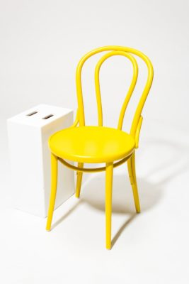 Alternate view 2 of Brent Yellow Cafe Chair