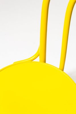 Alternate view 1 of Brent Yellow Cafe Chair