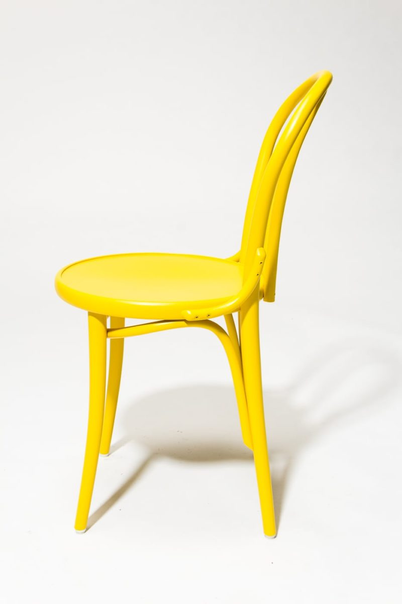 Alternate view 3 of Brent Yellow Cafe Chair