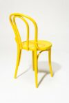 Alternate view thumbnail 4 of Brent Yellow Cafe Chair