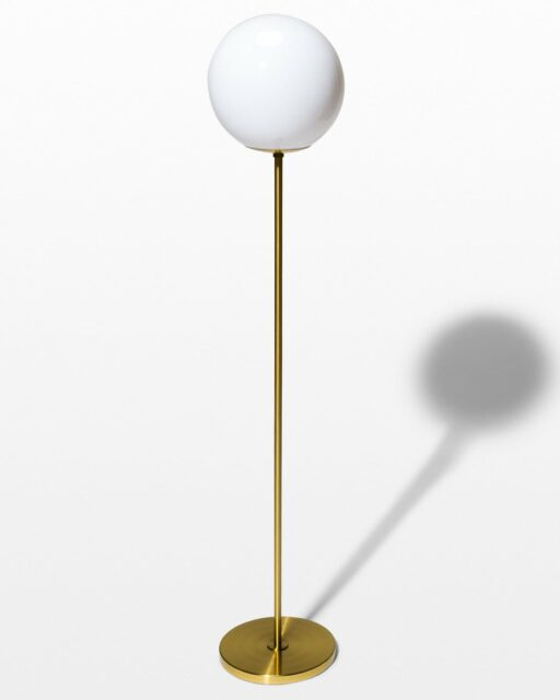 Front view of Bueno Globe Floor Lamp