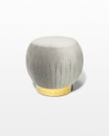 Front view thumbnail of Jason Pouf Ottoman