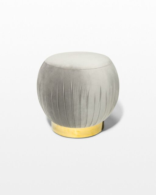 Front view of Jason Pouf Ottoman