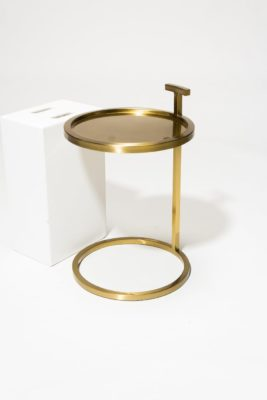 Alternate view 2 of Bennett Gold Ring Side Table